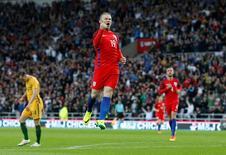 Wayne Rooney, do Manchester United, durante amistoso da seleção da Inglaterra.   27/05/2016 Reuters / Andrew Yates Livepic
