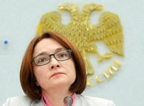 Russia's Central Bank Governor Elvira Nabiullina attends a news conference in Moscow, Russia, June 10, 2016. REUTERS/Maxim Shemetov - RTSGWHL