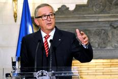Presidente da Comissão Europeia, Jean-Claude Juncker.    21/06/2016      REUTERS/Michalis Karagiannis