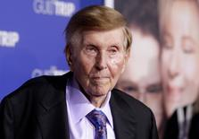 Sumner Redstone, executive chairman of CBS Corp. and Viacom, arrives at the premiere of 'The Guilt Trip' in Los Angeles December 11, 2012.  REUTERS/Fred Prouser/File Photo