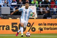 Atacante Sergio Aguero durante partida contra Bolívia pela Copa América Centenário.    14/06/2016       Joe Nicholson-USA TODAY Sports