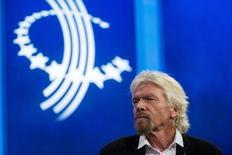 Richard Branson, fondateur et président de Virgin Group, déclare mardi que son entreprise a perdu un tiers de sa valeur depuis le référendum de jeudi dernier et ajoute que son pays courrt au désastre. L'homme d'affaires estime que la Grande-Bretagne va entrer en récession et se prononce pour un nouveau scrutin après le Brexit. /Photo d'archives/REUTERS/Lucas Jackson