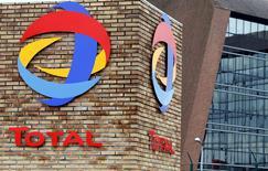 Total a engagé en mai un contentieux contre l'Algérie et sa compagnie pétrolière d'Etat, la Sonatrach, sur le partage des profits tirés du pétrole et du gaz. /Photo d'archives/REUTERS/Régis Duvignau