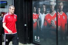 Jogador de País de Galês Gareth Bale após entrevista coletiva em Dinard, na França. 04/07/2016 REUTERS/Stephane Mahe