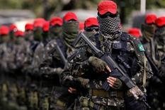 Agentes da brigada do Exército que vão atuar nos Jogos do Rio de Janeiro. 8/7/2016. REUTERS/Bruno Kelly