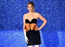 """Kristen Wiig, que está no elenco de """"Caça-Fantasmas"""", posa em Londres.  4/2/2016. REUTERS/Dylan Martinez"""