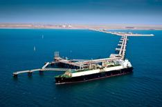An undated handout photo of Chevron's Gorgon LNG project located in Western Australia.     REUTERS/Chevron/Handout via Reuters