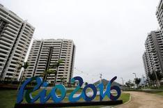 Vila Olímpica, no Rio de Janeiro  23/6/2016 REUTERS/Sergio Moraes