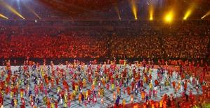 Cerimônia de abertura da Rio 2016. 05/08/2016.   REUTERS/Antonio Bronic