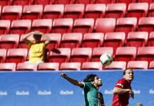 Jogo entre Iraque e Dinamarca em Brasília.  04/08/2016.  REUTERS/Ueslei Marcelino