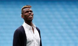 Football - Juventus - Etihad Stadium visit - Etihad Stadium, Manchester, England - 14/9/15 Juventus' Paul Pogba during the visit Action Images via Reuters / Carl Recine Livepic EDITORIAL USE ONLY. - RTS12LN