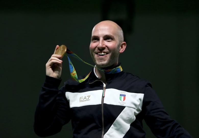 Italy's Campriani becomes Rio shooting supremo