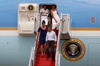 Vacation with the Obamas