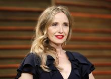 Julie Delpy chega a festa em West Hollywood  3/3/2014 REUTERS/Danny Moloshok
