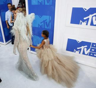 Red carpet at the VMAs