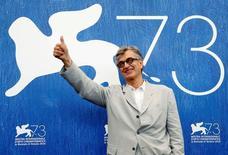 Diretor Win Wenders no Festival de Veneza.  1/9/2016. REUTERS/Alessandro Bianchi