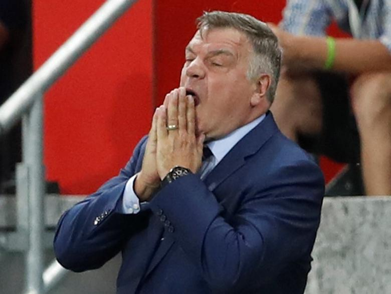 Football Soccer - Slovakia v England - 2018 World Cup Qualifying European Zone - Group F - City Arena, Trnava, Slovakia - 4/9/16England manager Sam Allardyce Action Images via Reuters / Carl RecineLivepicEDITORIAL USE ONLY.