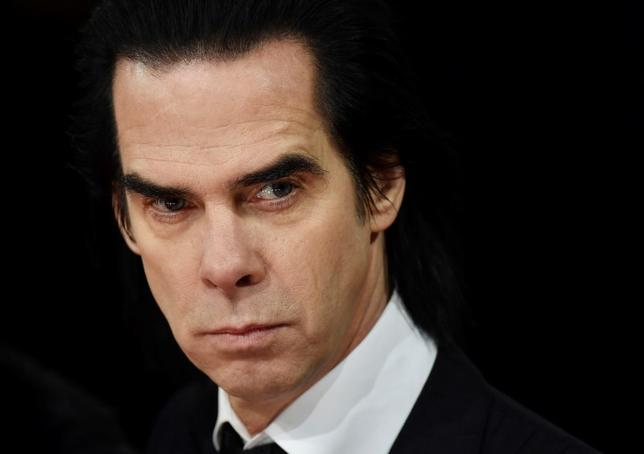 Australian musician Nick Cave arrives at the British Academy of Film and Arts (BAFTA) awards ceremony at the Royal Opera House in London in this file photo dated February 8, 2015. REUTERS/Toby Melville