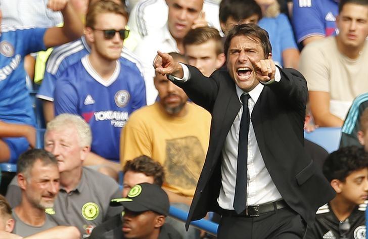Football Soccer Britain - Chelsea v Burnley - Premier League - Stamford Bridge - 27/8/16Chelsea manager Antonio Conte Action Images via Reuters / Andrew CouldridgeLivepic/Files