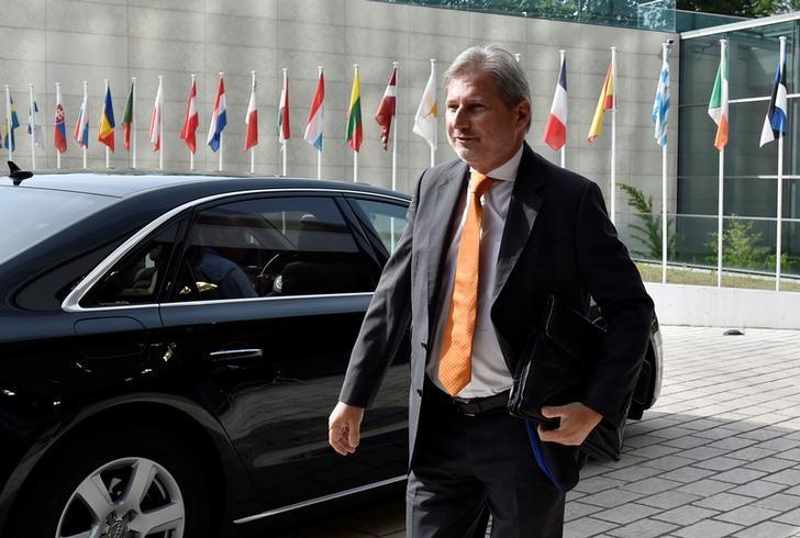 European Neighbourhood Policy and Enlargement Negotiations Commissioner Johannes Hahn arrives for a European Union foreign ministers meeting in Luxembourg, Luxembourg, June 20, 2016. REUTERS/Eric Vidal/Files