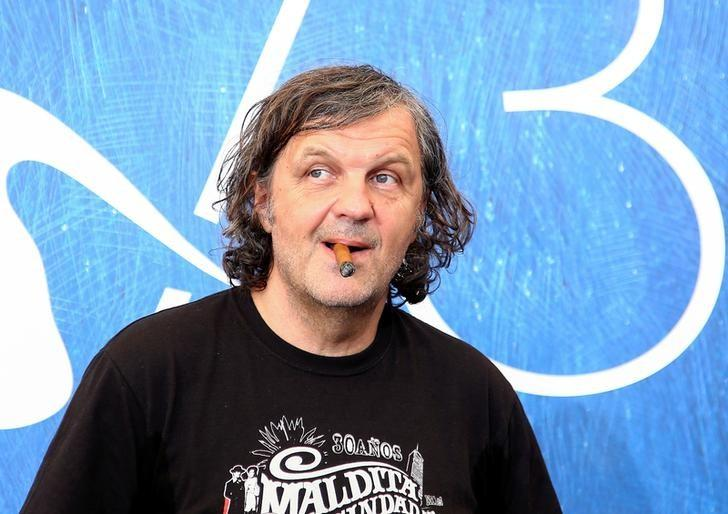Director Emir Kusturica attends the photo call for the movie ''Na Mlijecnom Putu'' (On The Milky Road) at the 73rd Venice Film Festival in Venice, Italy September 9, 2016. REUTERS/Alessandro Bianchi
