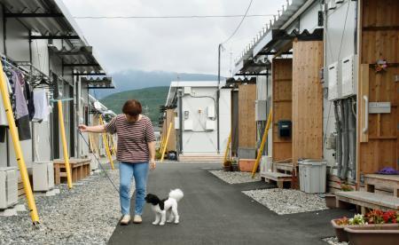 熊本地震、仮設3500戸完成