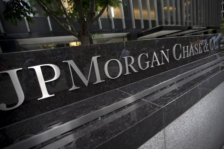 A view of the exterior of the JP Morgan Chase & Co. Corporate headquarters in the Manhattan borough of New York City, May 20, 2015.  REUTERS/Mike Segar