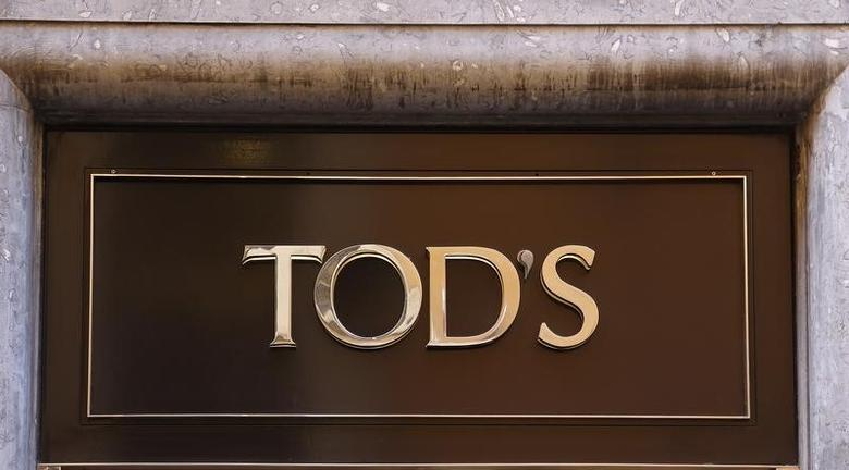The logo of Tod's is seen in a shop in downtown Rome, Italy February 10, 2016. REUTERS/Tony Gentile
