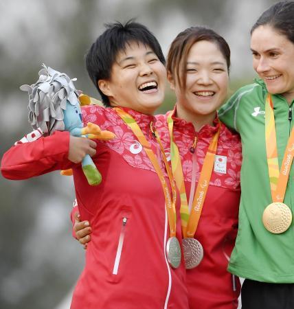 自転車、鹿沼と藤田が銀メダル
