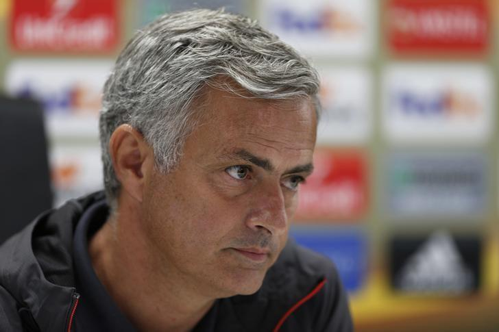 Britain Soccer Football - Manchester United Press Conference - De Kuip Stadium, Rotterdam, Netherlands - 14/9/16Manchester United manager Jose Mourinho during the press conferenceAction Images via Reuters / Matthew ChildsLivepic
