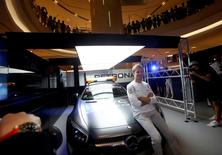 Mercedes' Nico Rosberg of Germany attends a publicity event ahead of the Singapore F1 Grand Prix Night Race in Singapore, September 15, 2016. REUTERS/Edgar Su
