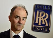 Warren East, CEO of Rolls-Royce, poses for a portrait at the company aerospace engineering and development site in Bristol, Britain December 17, 2015. REUTERS/Toby Melville/File Photo