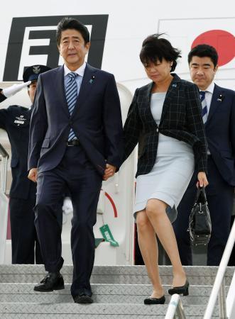 首相、ニューヨーク到着