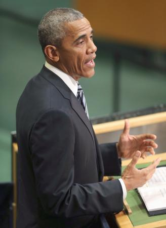 オバマ氏、「核なき世界」訴え