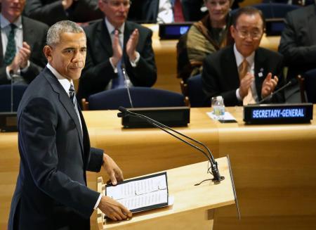 オバマ氏、難民危機は人類の試練