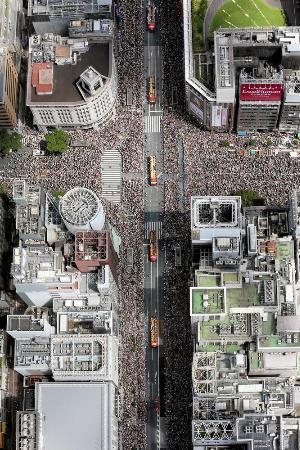 リオのパレードは銀座―日本橋