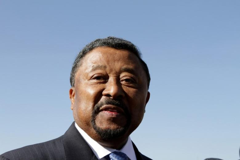 African Union Commission chairman Jean Ping arrives for the 18th African Union (AU) Summit in the Ethiopia's capital Addis Ababa, January 29, 2012.   REUTERS/Noor Khamis/File Photo