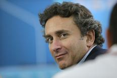 Alejandro Agag, CEO of Formula E, is pictured before a news conference  in Beijing, September 12, 2014.   REUTERS/Jason Lee