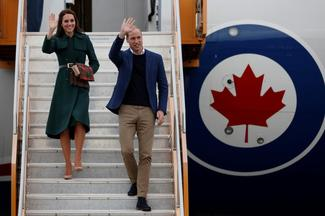 Will and Kate visit Canada
