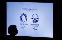 Logos dos Jogos Olímpicos e Paralímpicos Tóquio 2020. 21/09/2016 REUTERS/Toru Hanai