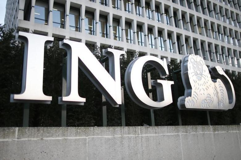 The ING logo is pictured in Brussels, Belgium, March 23, 2016.   REUTERS/Charles Platiau