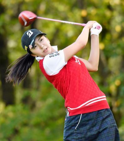 ゴルフ堀が首位、15歳長野2位
