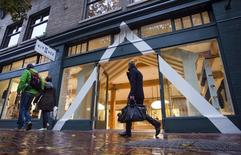 The Kit and Ace flagship store is pictured in Vancouver, British Columbia October 17, 2014. REUTERS/Ben Nelms