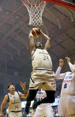バスケット、琉球が初勝利