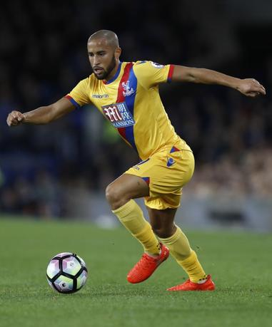 Britain Football Soccer - Everton v Crystal Palace - Premier League - Goodison Park - 30/9/16Crystal Palace's Andros Townsend Action Images via Reuters / Carl Recine