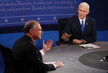米副大統領候補が討論会