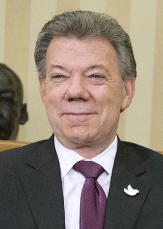 コロンビア大統領に平和賞