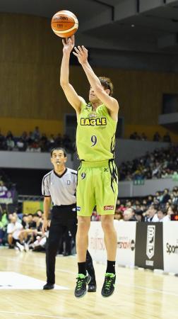 バスケ、北海道が秋田に競り勝つ