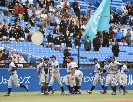 六大学野球、東大敗れ勝ち点逃す