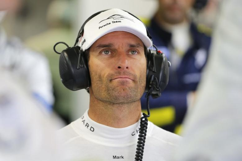 Former Formula One driver Mark Webber of Australia, attends the Le Mans 24-hour sportscar race in Le Mans, central France June 15, 2014. REUTERS/Stephane Mahe